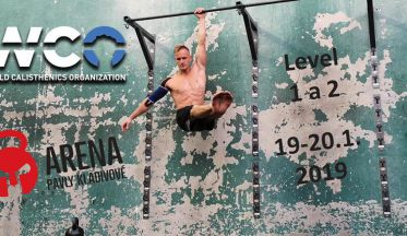 World Calisthenics Organisation workshop Praha 2019