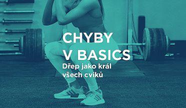 CHYBY V BASICS: Jak správně dřepovat - správná technika