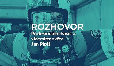 Jak trénuje český vicemistr světa ve Firefighter Combat Challenge Jan Pipiš?