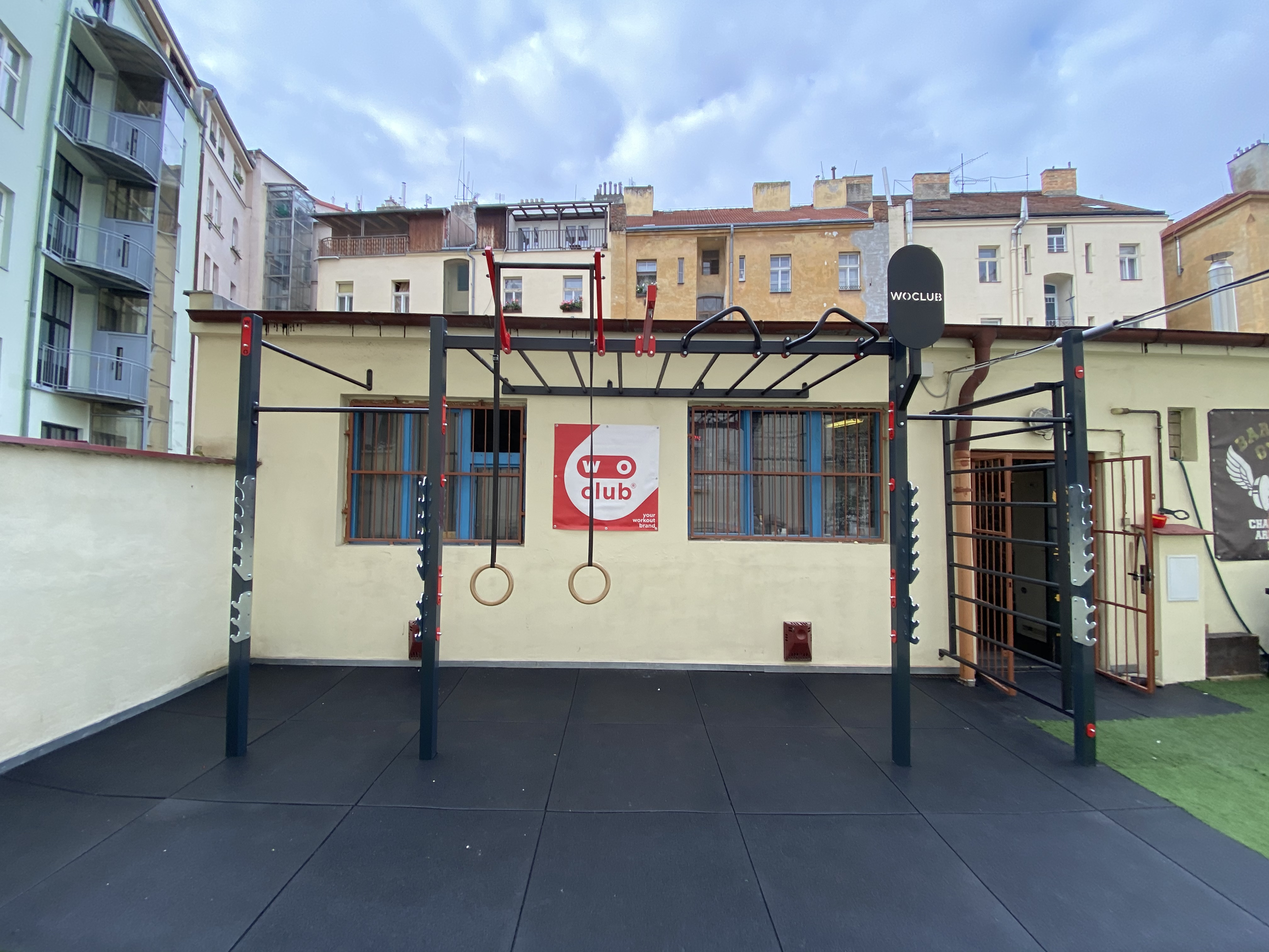 Barbell gym Praha