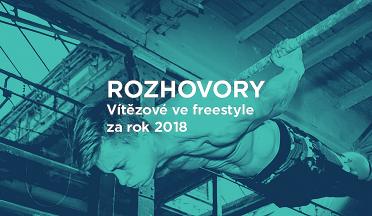 Rozhovory - úspěšní street workoutoví freestyleři 2K18