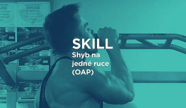 SKILL: Jak na shyby na jedné ruce - one arm pull ups tutorial