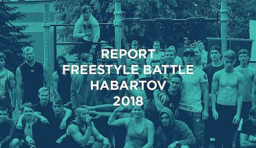 Report: Street workout Habartov - Freestyle battle 2018