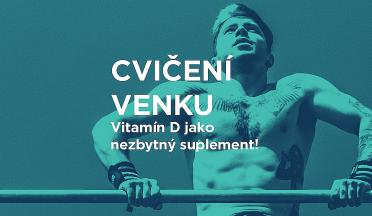 Vitamín D jako nezbytný suplement a důvod proč jít cvičit ven na workoutové hřiště.