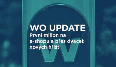 WO UPDATE 3 (červenec/srpen/září): první milion na e-shopu a přes dvě desítky nových hřišť!
