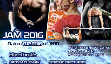 BIG CzechoSlovakian Street Workout JAM 2016